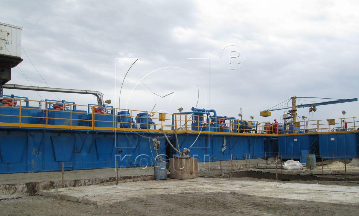 kosun solids control equipment are the Solids control equipment application in horizontal directional crossing project principle of kosun drilling waste management solution in horizontal directional.